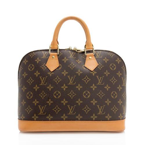 ce2dcec89182 Louis Vuitton Monogram Canvas Alma PM Satchel