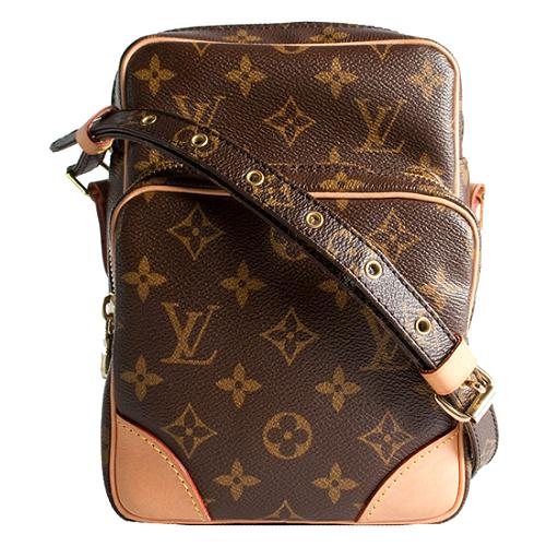 Louis Vuitton Monogram Canvas Amazone Crossbody Messenger Bag
