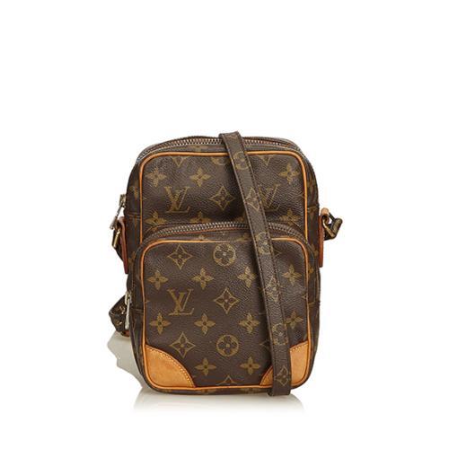 Louis Vuitton Vintage Monogram Canvas Amazone Messenger Bag