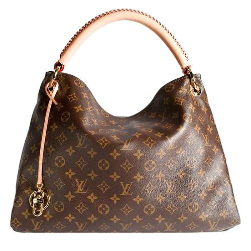 Louis Vuitton Monogram Coated Canvas artsy Mm Shoulder Handbag Purse ZTbkHFiUA