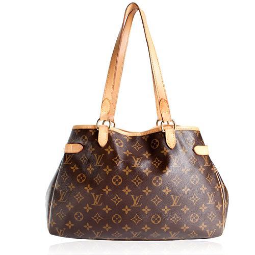 Louis Vuitton Monogram Canvas Batignolles Shoulder Handbag - FINAL SALE