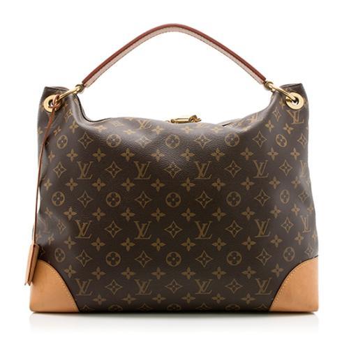 Louis Vuitton Monogram Canvas Berri MM Shoulder Bag
