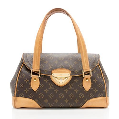 Louis Vuitton Monogram Canvas Beverly GM Satchel