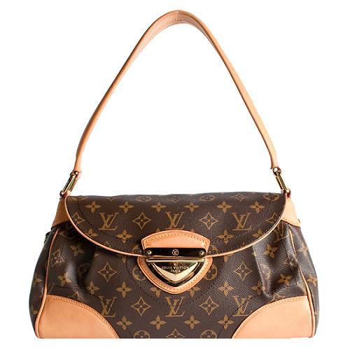 Louis Vuitton Monogram Canvas Beverly MM Shoulder Handbag