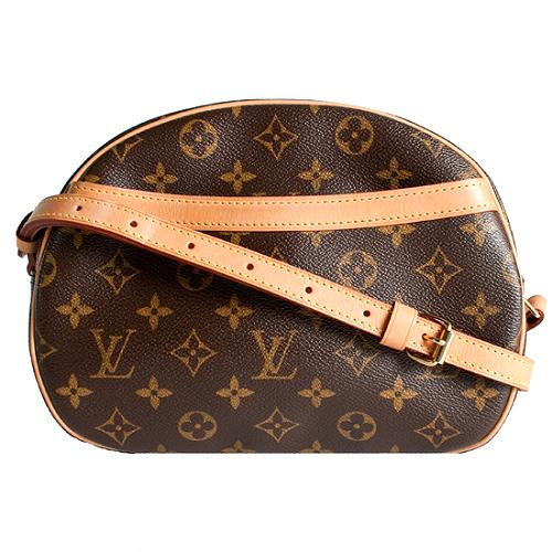 Louis Vuitton Monogram Canvas Blois Shoulder Handbag