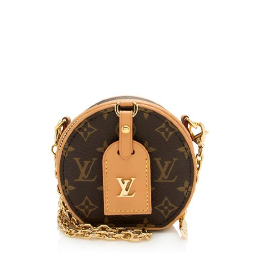 Louis Vuitton Monogram Canvas Boite Chapeau Necklace