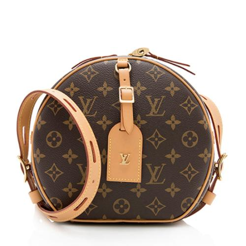 Louis Vuitton Monogram Canvas Boite Chapeau Souple Shoulder Bag
