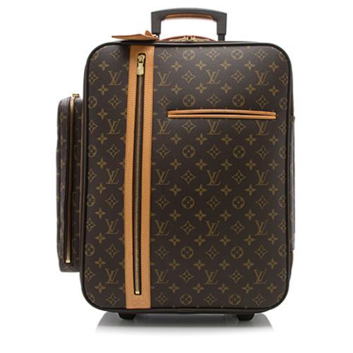 louis vuitton monogram canvas bosphore trolley 50 rolling luggage. Black Bedroom Furniture Sets. Home Design Ideas