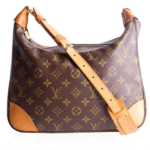 Louis Vuitton Monogram Canvas Boulogne Shoulder Handbag