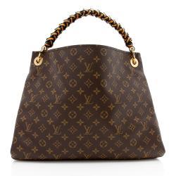 Louis Vuitton Monogram Canvas Braided Artsy MM Shoulder Bag
