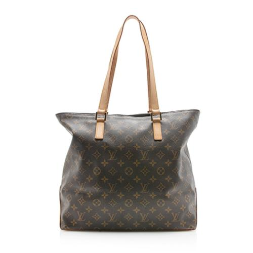 Louis Vuitton Vintage Monogram Canvas Cabas Mezzo Tote