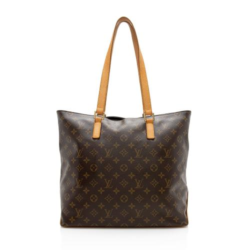 Louis Vuitton Monogram Canvas Cabas Mezzo Tote