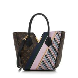 Louis Vuitton Monogram Canvas Calf Leather Kimono PM Tote