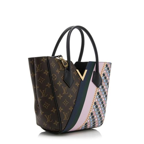 Louis Vuitton Monogram Canvas Calf Leather Kimono PM Tote