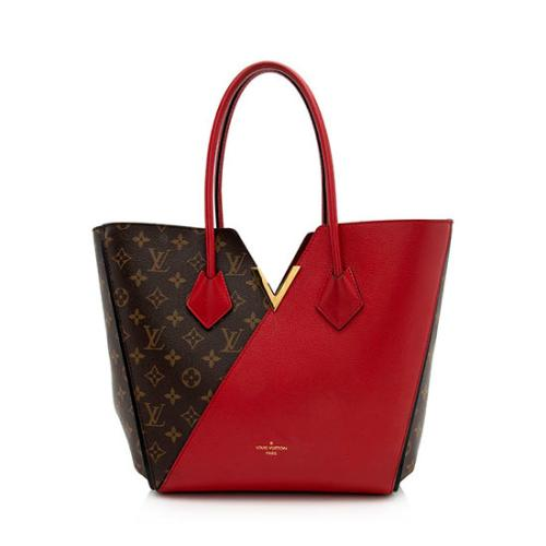 Louis Vuitton Monogram Canvas Calf Leather Kimono Tote