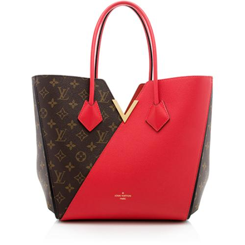 48bc533884fa Louis Vuitton Monogram Canvas Calf Leather Kimono Tote