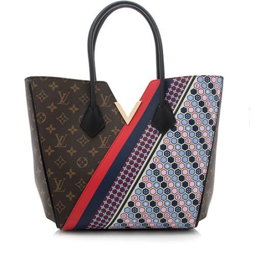 8497a5029906 Louis-Vuitton-Monogram-Canvas-Calf-Leather-Kimono -Tote 91968 front large 1.jpg