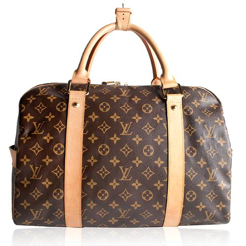 Louis Vuitton Monogram Canvas Carryall Luggage Bag