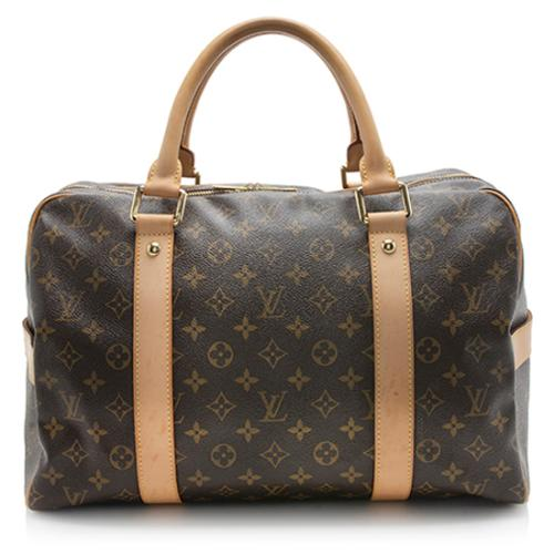 Louis Vuitton Monogram Canvas Carryall Weekender