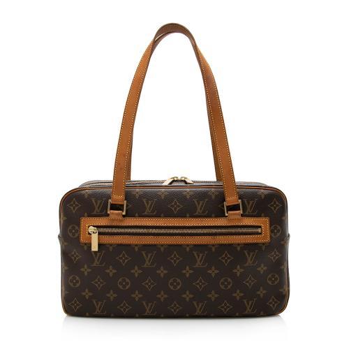 Louis Vuitton Monogram Canvas Cite GM Shoulder Bag
