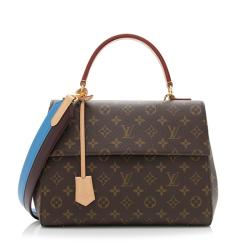 Louis Vuitton Monogram Canvas Cluny MM Satchel