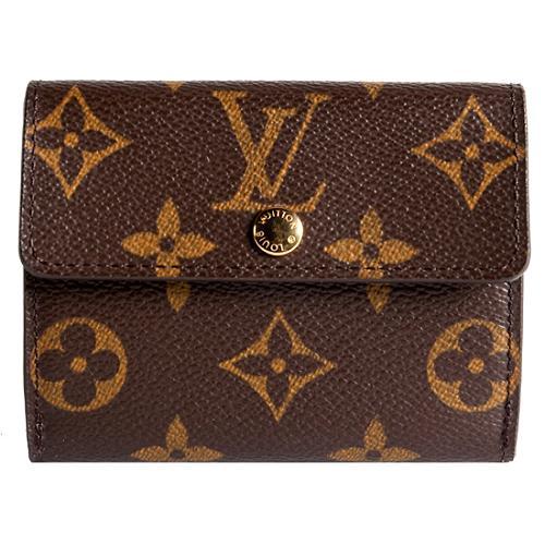 Louis Vuitton Monogram Canvas Compact Wallet