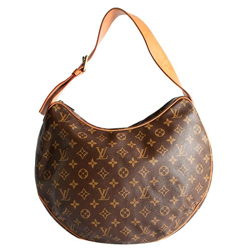 Louis Vuitton Monogram Canvas Croissant GM Shoulder Handbag