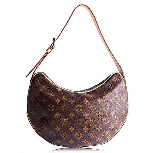 Louis Vuitton Monogram Canvas Croissant MM Shoulder Handbag
