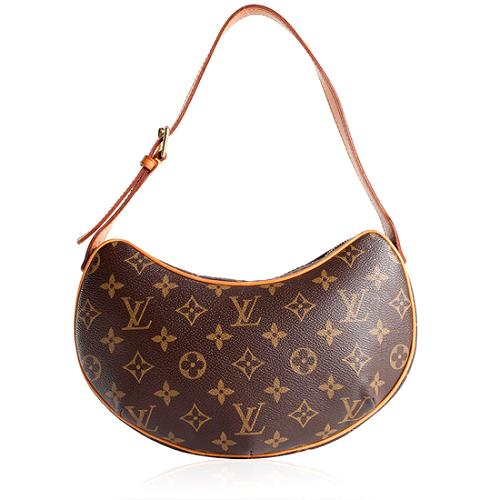 Louis Vuitton Monogram Canvas Croissant PM Shoulder Handbag - FINAL SALE