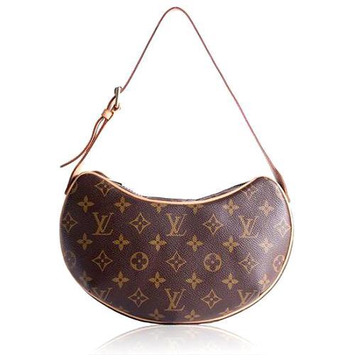 Louis Vuitton Monogram Canvas Croissant PM Shoulder Handbag