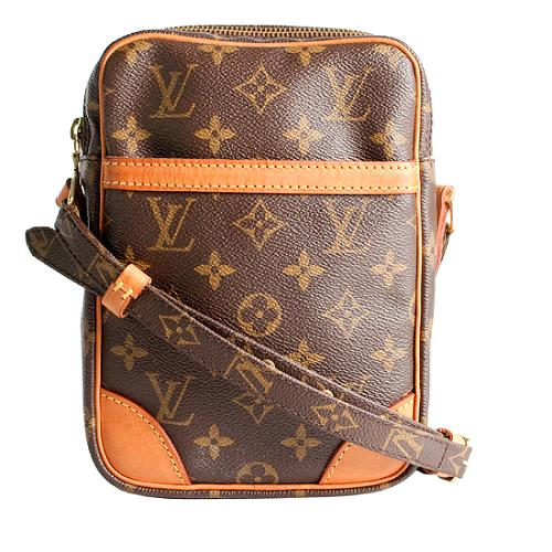 Louis Vuitton Monogram Canvas Danube Shoulder Handbag