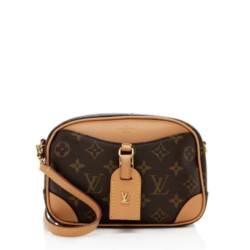Louis Vuitton Monogram Canvas Deauville Mini Shoulder Bag