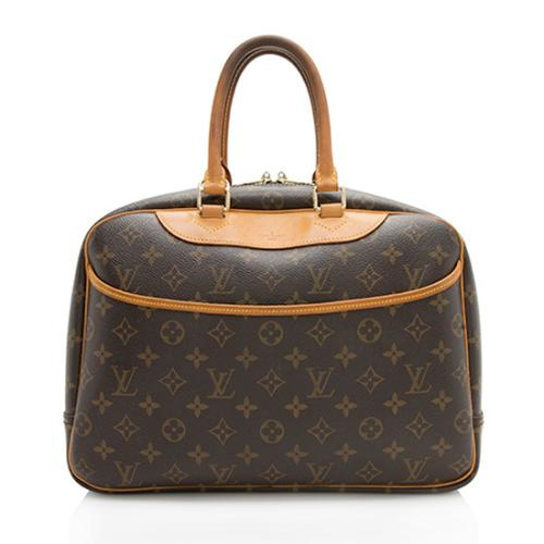 Louis Vuitton Monogram Canvas Deauville Satchel - FINAL SALE