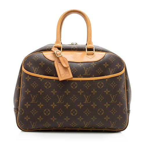 Louis Vuitton Monogram Canvas Deauville Satchel