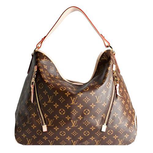 Louis Vuitton Monogram Canvas Delightful GM Shoulder Handbag