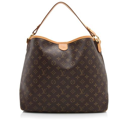 Louis Vuitton Monogram Canvas Delightful MM Shoulder Bag - FINAL SALE