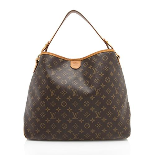 Louis Vuitton Monogram Canvas Delightful MM Shoulder Bag - FINAL SALE