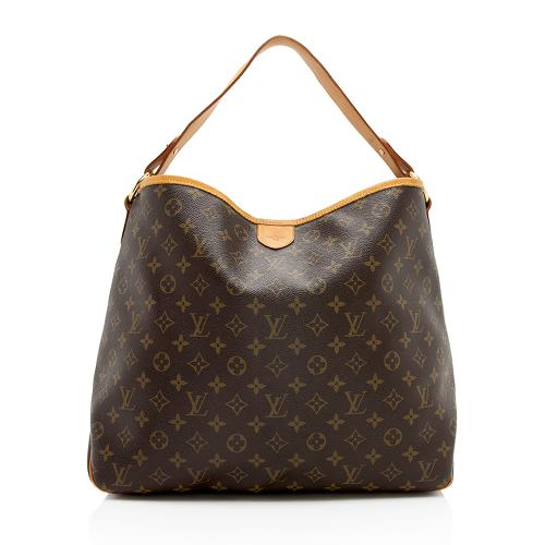 Louis Vuitton Monogram Canvas Delightful MM Shoulder Bag