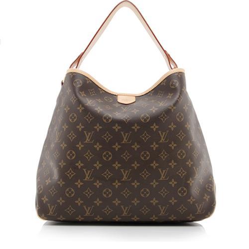 Louis Vuitton Monogram Canvas Delightful MM Shoulder Bag
