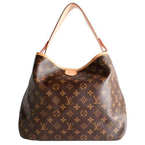 Louis Vuitton Monogram Canvas Delightful PM Shoulder Handbag