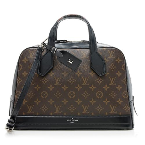 Louis Vuitton Monogram Canvas Dora MM Satchel