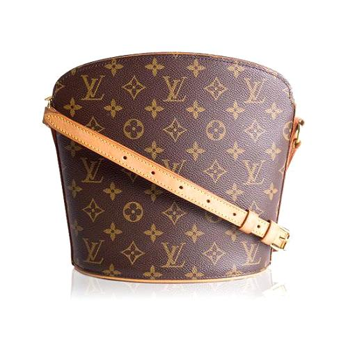 Louis Vuitton Monogram Canvas Drouot Shoulder Handbag