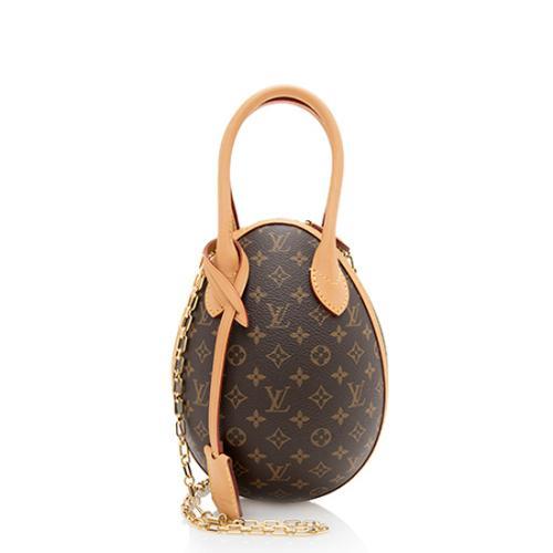Louis Vuitton Monogram Canvas Egg Shoulder Bag