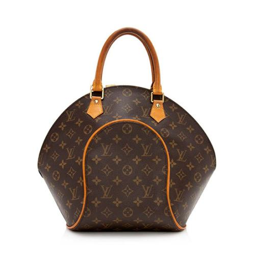 Louis Vuitton Monogram Canvas Ellipse MM Satchel