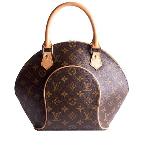 Louis Vuitton Monogram Canvas Ellipse PM Satchel Handbag