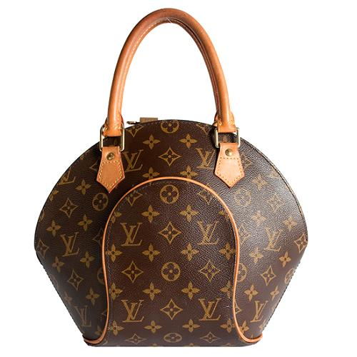 Louis Vuitton Monogram Canvas Ellipse PM Satchel Handbag