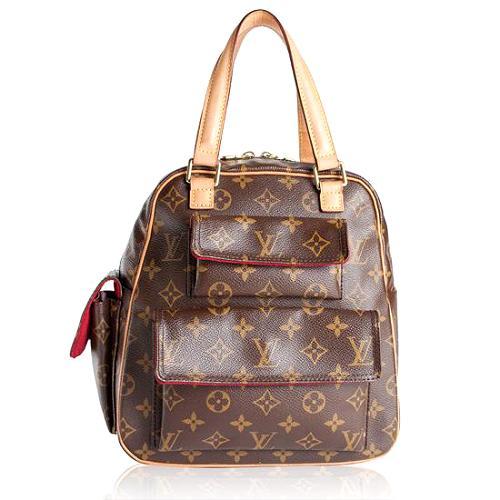 Louis Vuitton Monogram Canvas Excentri-cite Satchel Handbag