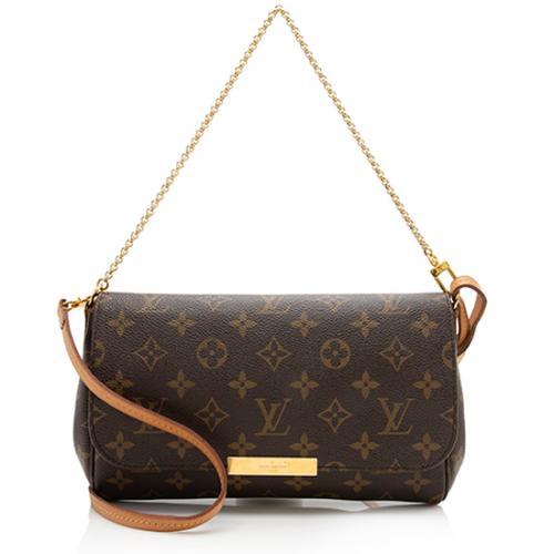 Louis Vuitton Monogram Canvas Favorite MM Shoulder Bag - FINAL SALE
