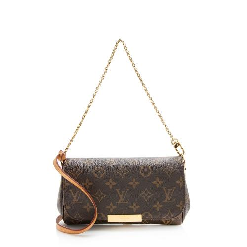 Louis Vuitton Monogram Canvas Favorite PM Shoulder Bag