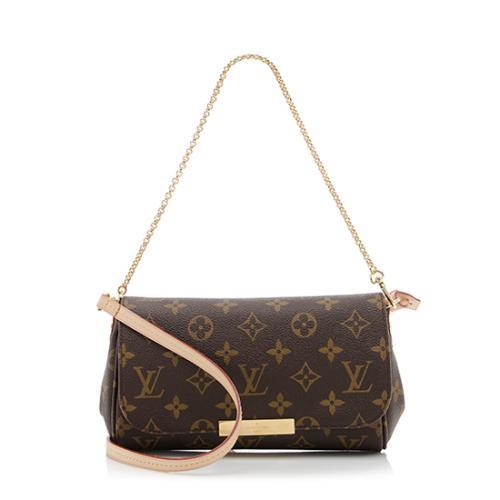 9b7686f81da Louis Vuitton Monogram Canvas Favorite PM Shoulder Bag